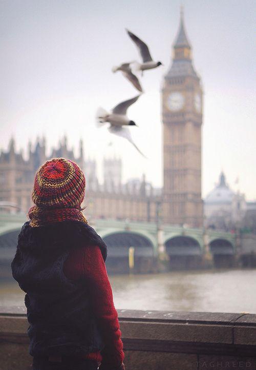 Mirando al Big Ben